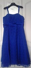 Two bridesmaid dresses, size 20 - Peackock Blue. From: Bridesmaids by Romantica - Nell.