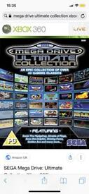 Sega ultimate megadrive collection Xbox 360