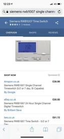 Central heating time switch