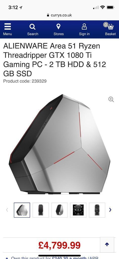Brand New Dell Alienware Gaming Mouse