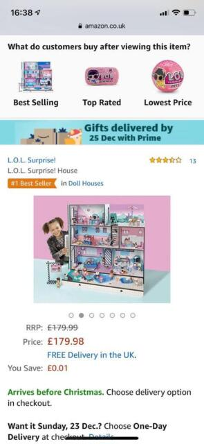 Lol dolls surprise house | in Knutsford, Cheshire | Gumtree