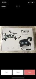 Parrot Mambo FPV Drone Plus extras