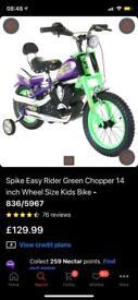 "Brand new 14"" bike"