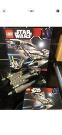 Star Wars Lego set complete and comes boxed