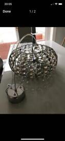 Next large ceiling light great condition can possibly deliver