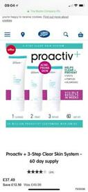 Brand new proactiv+ unwanted gift from boots £30 collection pound hill