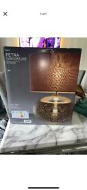 Next Petra table lamp brand new