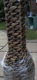 Brand new wicker vase from Ikea