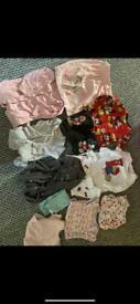 6-9 baby girl clothes bundle £6