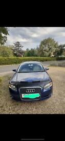 Audi A4 bonnet bra