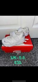 Brand new with tags boys tracksuits and trainers.