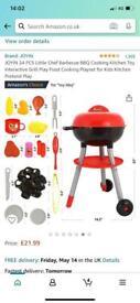 JOYIN 24 Piece Little Chef BBQ Cooking Kitchen