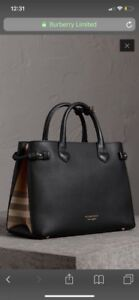 Brand New Authentic Burberry Banner Bag.