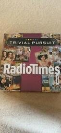 Trivial pursuit radio times board game