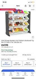 Toy storage 4 tier
