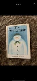 THE SNOW MAN BOOK( RAYMOND BRIGGS )