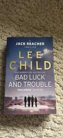 Lee Child Bad Luck and Trouble Book