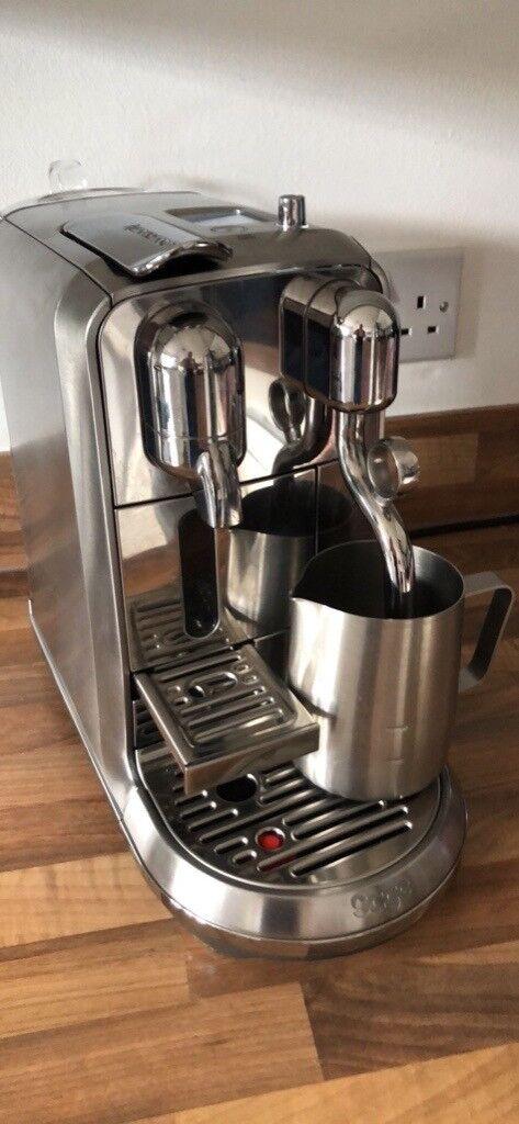 Sage Nespresso Creatista Plus Coffee Machine In Hamilton South Lanarkshire Gumtree