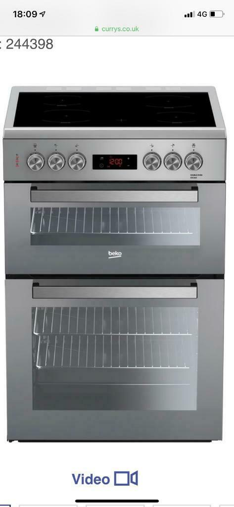 Ex display (new) BEKO Pro XDC663SM 60 cm Electric Cooker - Silver | in  Eccles, Manchester | Gumtree
