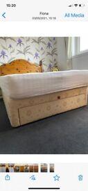 3 drawer divan double bed