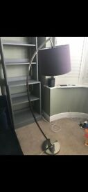 Laura Ashley floor lamp and shade