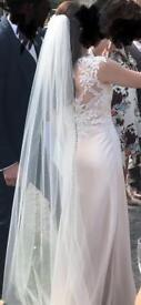 Wedding veil long length