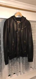 Never worn Diesel leather jacket