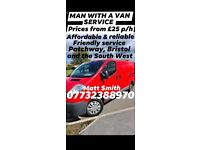 Matt with a van