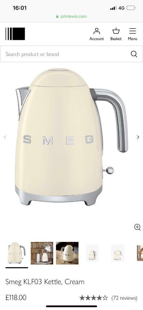 Smeg kettle in perfect condition | in Aberdeen | Gumtree