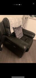 2 seater recliner sofa and electric recliner chair