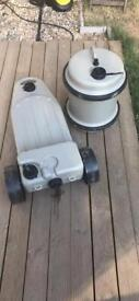 Aquaroll and wastemaster for sale