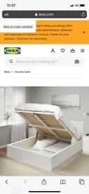 FREE ikea double bed and mattress