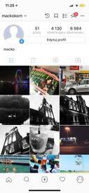 Instagram account 4000 followers 4k