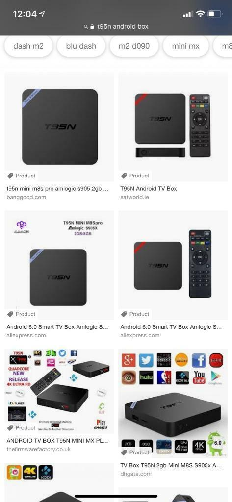 Kodi/Android Box T95N | in Stockton-on-Tees, County Durham | Gumtree