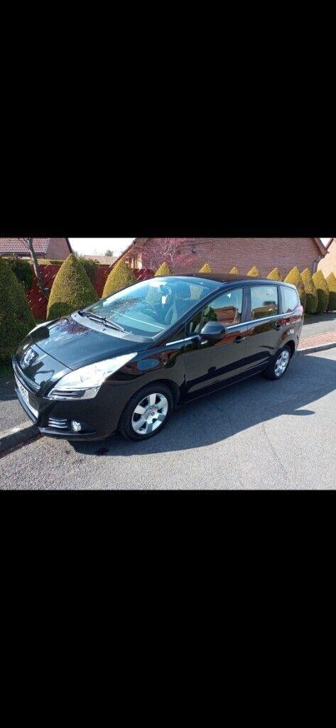 Peugeot, 5008, MPV, 2010, Manual, 1560 (cc), 5 doors