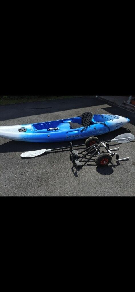 Perception Scooter Sit on Top Kayak (Blue) | in Mumbles, Swansea | Gumtree