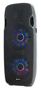 "Gemini AS-215BLU-LT Dual 15"" Powered Speaker w/LED Array and Bluetooth Now for the first time in Canada ( dj pa party )"