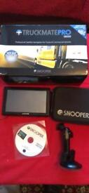 Snooper s8000 with TV ,European Maps ,very good condition