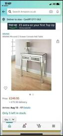 Console or dressing table