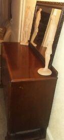 wooden cabinet vintage