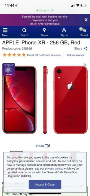 iPhone XR red | in Frimley, Surrey | Gumtree