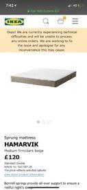 IKEA Hamavrik spring mattress