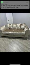 Brand new 3 seater sofa with Tag