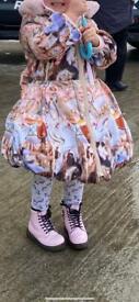 Girls adee carousel jacket