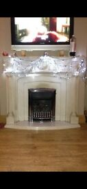 Fireplace plus gas fire for sale