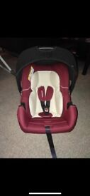Mothercare group 0 car seat