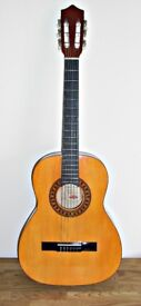 Stagg Handmade Classical Guitar Model C530 and Case.