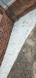 FREE White decorative garden stones