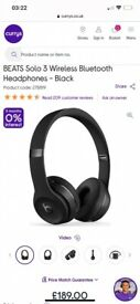 Beats Solo 3 brand new wrapped in box.