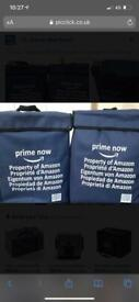 Amazon Prime Now Food Delivery/Camping/Picnic/Take Away Delivery Driver Bag.
